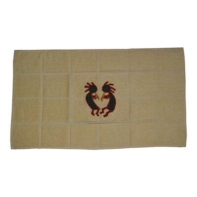 Ocean View Kokoepelli Bath Mat
