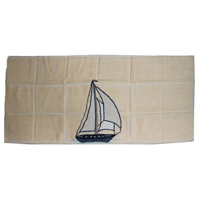 Ocean View Nautical Bath Mat