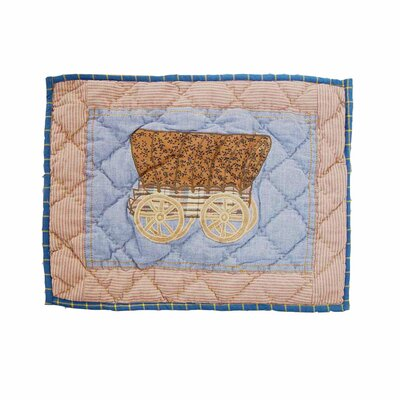 Cowgirl Cotton Boudoir/Breakfast Pillow