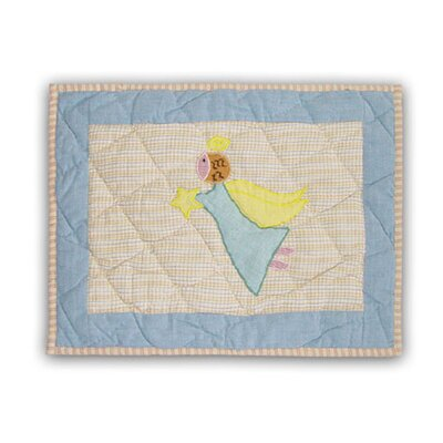 Flying Angels Cotton Boudoir/Breakfast Pillow