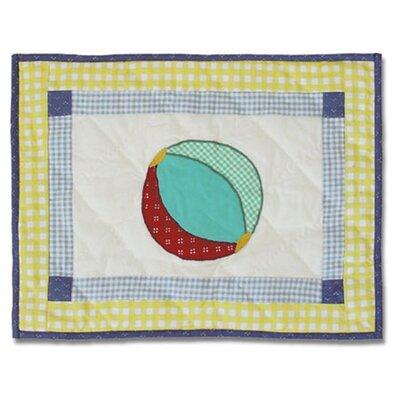 Summer Fun Cotton Boudoir/Breakfast Pillow