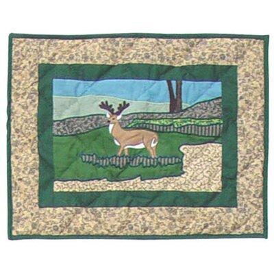 Wilderness Cotton Boudoir/Breakfast Pillow