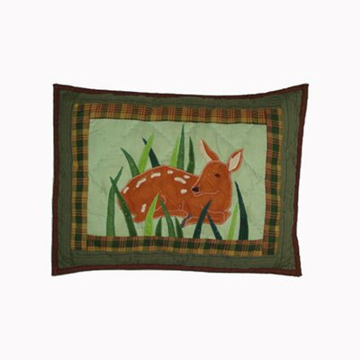Whitetails Grove Cotton Boudoir/Breakfast Pillow