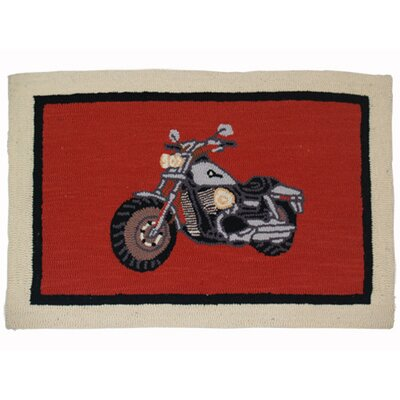Motor Cycle Area Rug