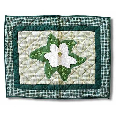 Magnolia Blossoms Pillow Sham