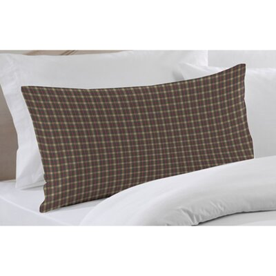 Cream Tartan Plaid Pillow Sham