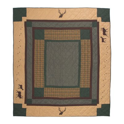 Elk Trail Quilt Size: King