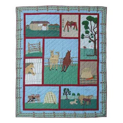 Horse Quilt Size: Full / Queen