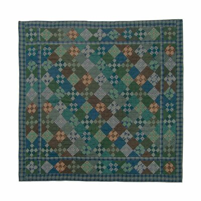 Chambray Nine Patch Luxury Quilt