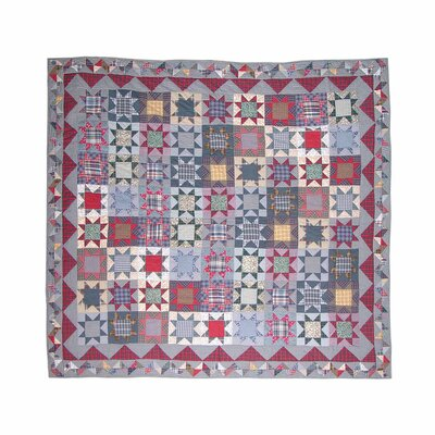 Denim Burst Luxury Quilt