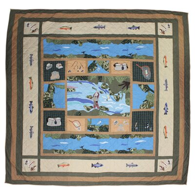 Fly Fishing Luxury Quilt