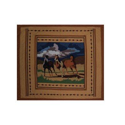Wild Horses Luxury Quilt