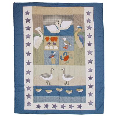 Beach Critters Quilt Size: King