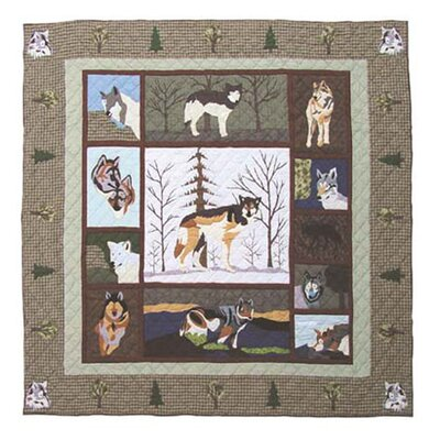 Call of the Wild Quilt Size: King
