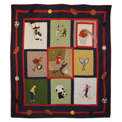 Play to Win Quilt
