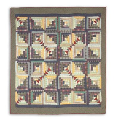 Wild Goose Log Cabin Quilt Size: Full / Queen
