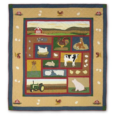 Barnyard Quilt Size: Twin