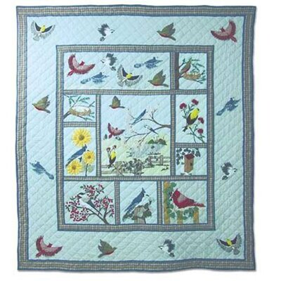 Songbirds Quilt Size: Queen