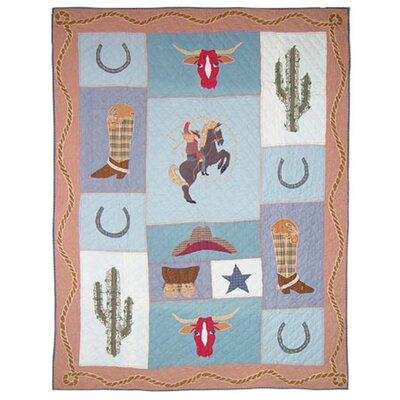 Cowgirl Quilt Size: Full / Queen