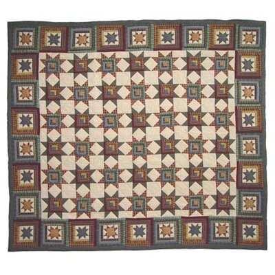 Cottage Star Quilt Size: Luxury King
