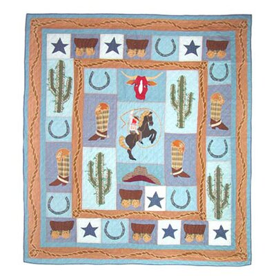 Cowboy Quilt Size: Full / Queen