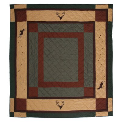 Deer Trail Quilt Size: Twin