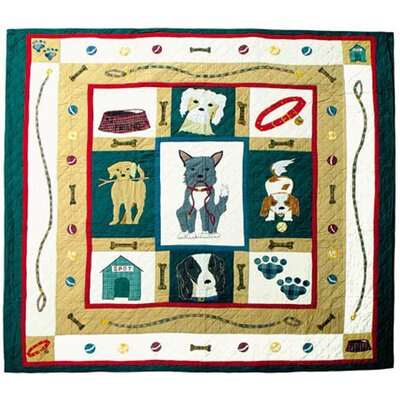 Fido Quilt Size: Twin