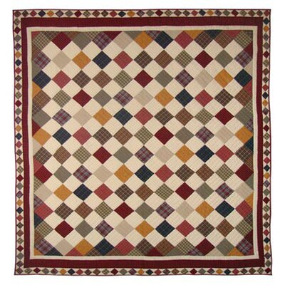 Rustic Cabin Quilt Size: Twin