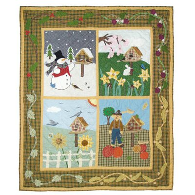 Four Seasons Cotton Throw