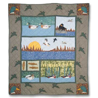 Mallard Cotton Throw