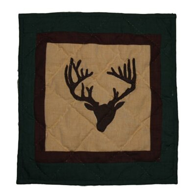 Deer Trail Cotton Throw Pillow