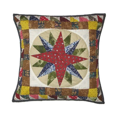 Mariners Star Cotton Throw Pillow