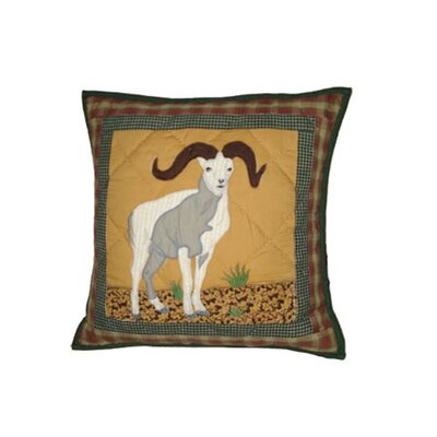 Rocky Mountain Cotton Throw Pillow