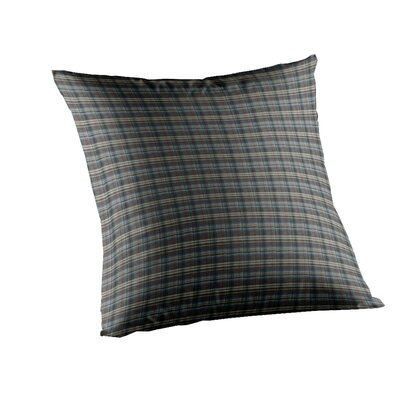 Plaid Cotton Throw Pillow