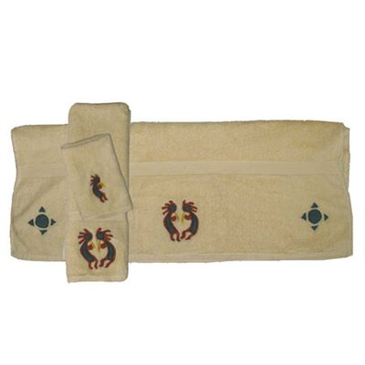 Kokoepelli 3 Piece Towel Set