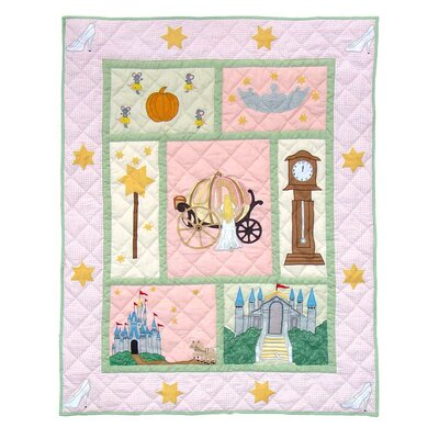 Fairy Tale Princess Cotton Throw