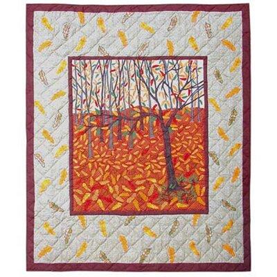 Forest Wonderland Cotton Throw