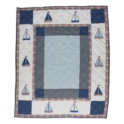 Sail Trail Cotton Throw
