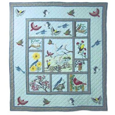 Songbirds Queen Duvet Cover