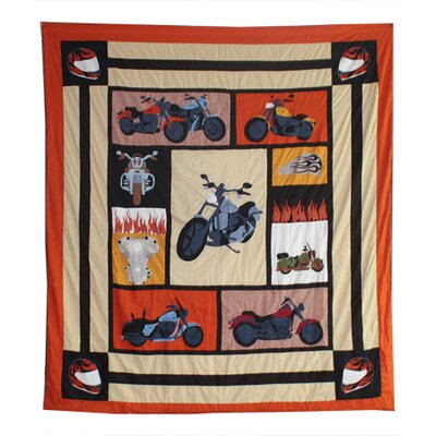 Motor Cycle Duvet Cover Collection