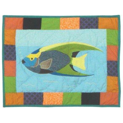 Ocean Schools Crib Cotton Boudoir/Breakfast Pillow
