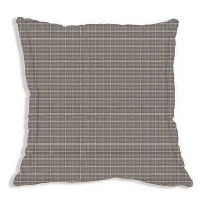 Plaid Euro Sham Color: Blue and Grey Plaid