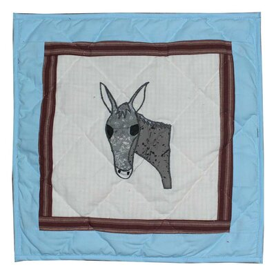Mule Trail Cotton Throw Pillow