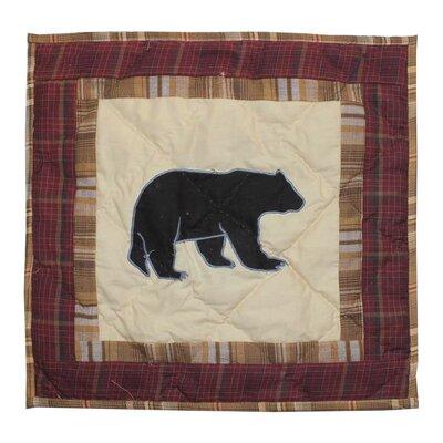 Pinecone Trail Cotton Throw Pillow