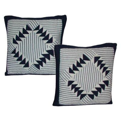 Mariner Cove Cotton Throw Pillow