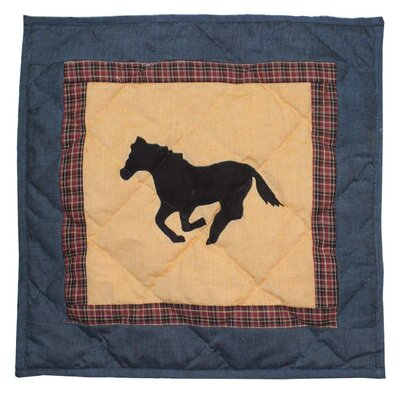 Wild Horse Trail Cotton Throw Pillow