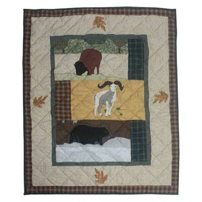 Rocky Mountain Crib Quilt QCRCKY