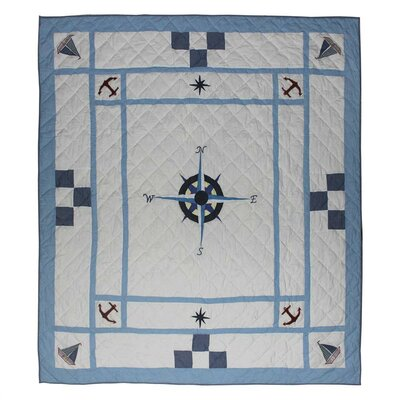 Star of the Sea Quilt Size: King