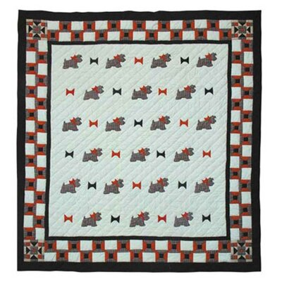Scottie Queen Quilt