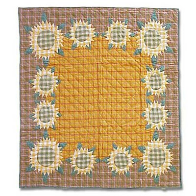 Sunflower Coverlet Collection